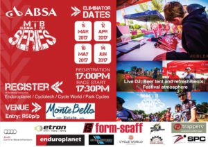 ABSA Eliminator Challenge @ Montebello Estate | Bloemfontein | South Africa